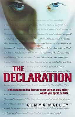 The Declaration By Malley, Gemma